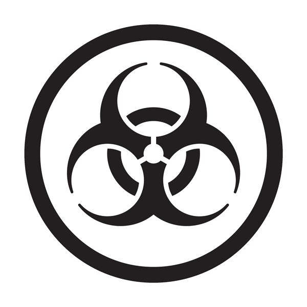 whimis biohazard pictogram