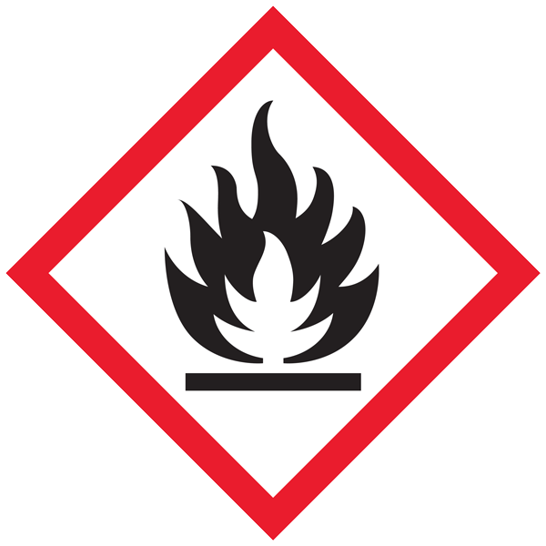 whimis flammable material pictogram