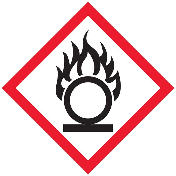 whimis oxidizing pictogram